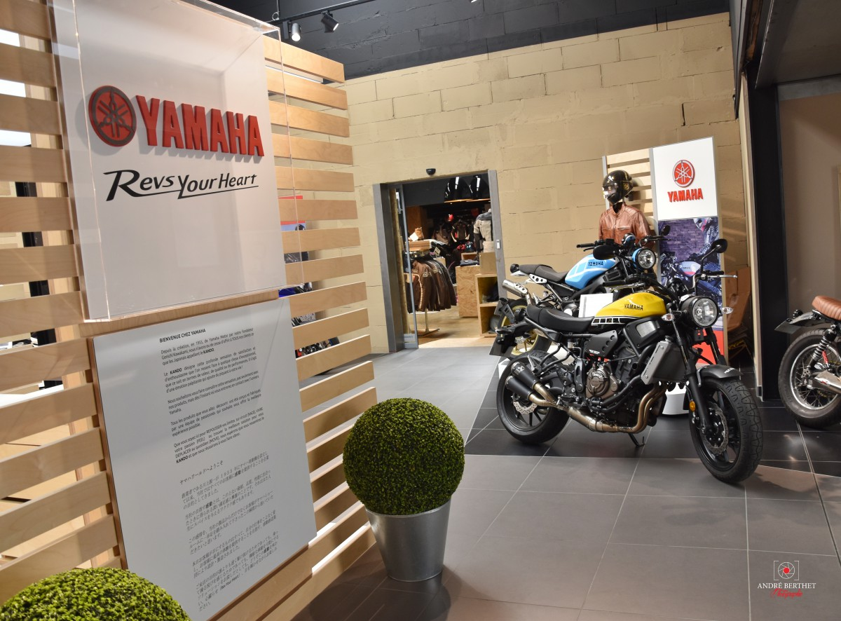 magasin de moto yamaha id es d 39 image de moto. Black Bedroom Furniture Sets. Home Design Ideas